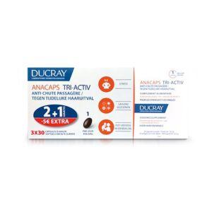 Ducray Anacaps Tri-Activ Promo Tripack 2+1 Gratis + Promo - €5