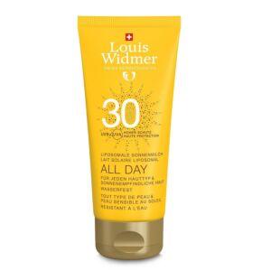 Louis Widmer Sun All Day SPF30 Zonder Parfum 100ml