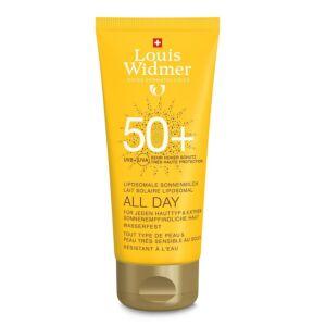 Louis Widmer Sun All Day SPF50 Zonder Parfum 100ml
