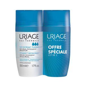 Uriage Deodorant Force 3 Roll-On Promo 2x50ml