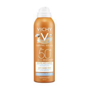 Vichy Idéal Soleil Anti-Zand Spray Voor Kinderen SPF50+ 200ml