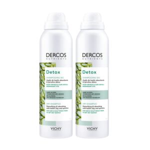 Vichy Dercos Nutrients Detox Droogshampoo Duopack 2x150ml