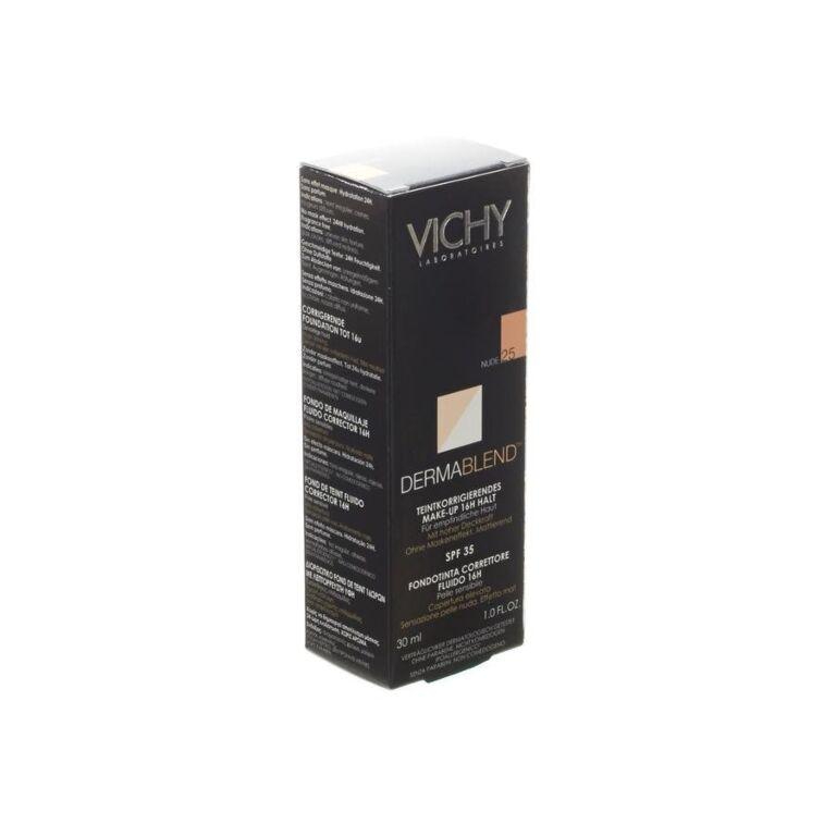 Vichy Dermablend Fond De Teint Fluide 25 Nude 30ml Online Bestellen Kopen
